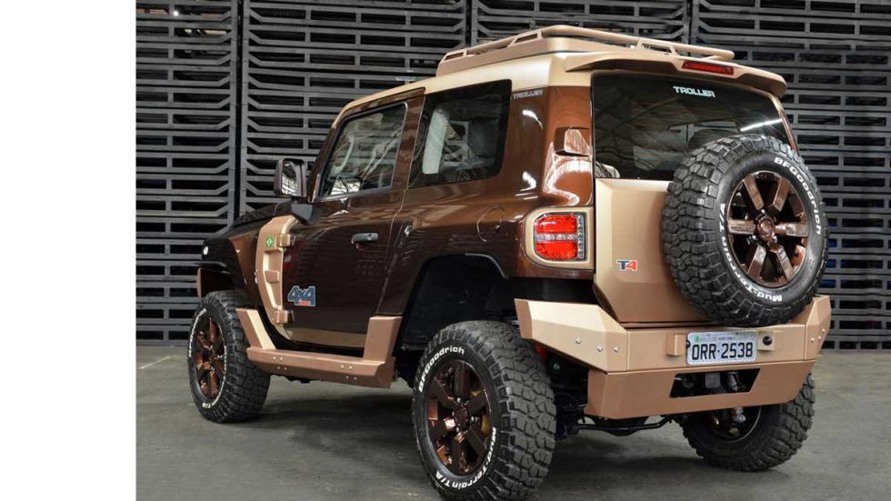 Ford Troller T4 Concept tres cuartos trasero