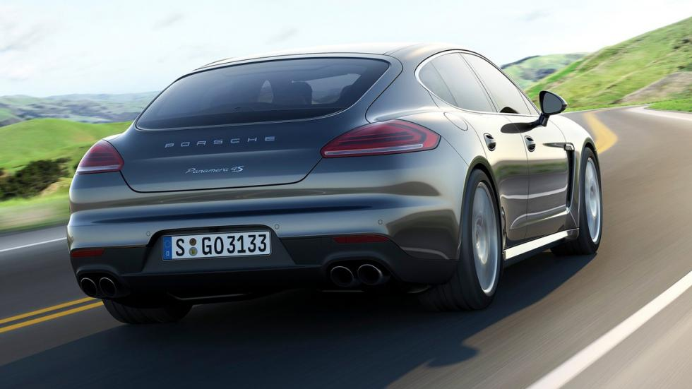 coches recomendables feos Porsche Panamera trasera
