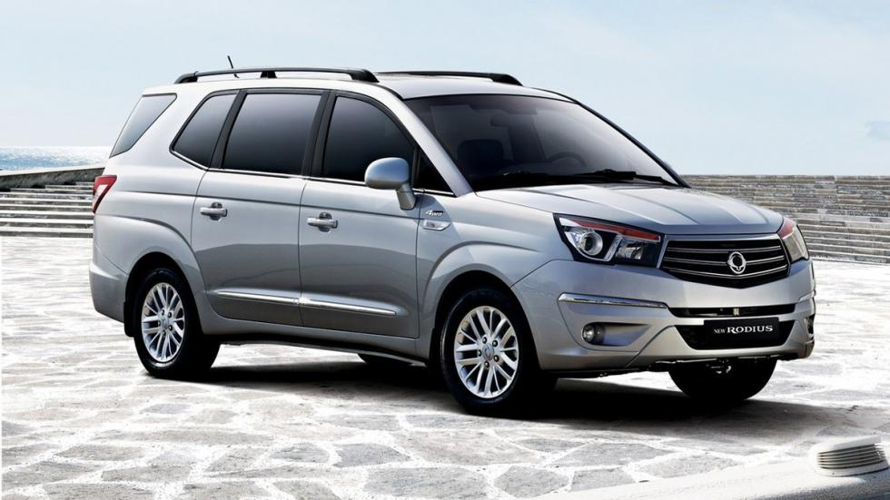 coches recomendables feos SsangYong Rodius