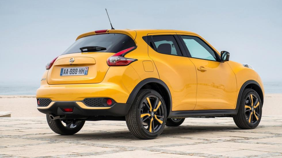 coches recomendables feos Nissan Juke trasera