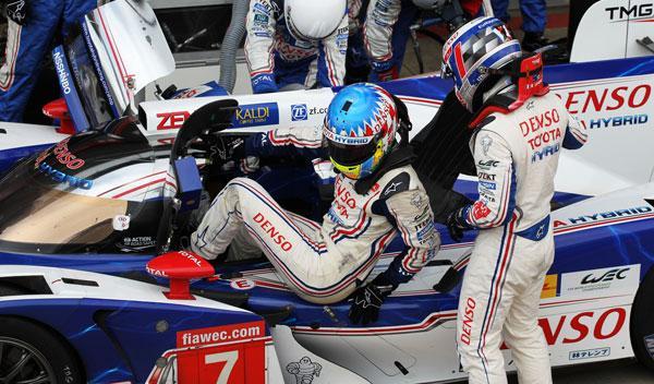 pilotos de Toyota le mans 2014