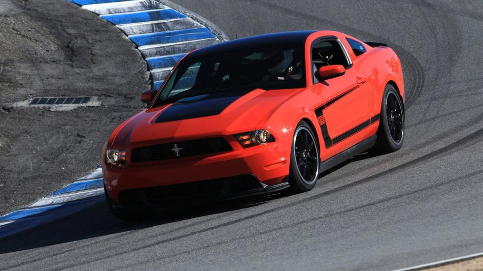 Cinco mejores muscle cars Ford Mustang Boss 302 delantera