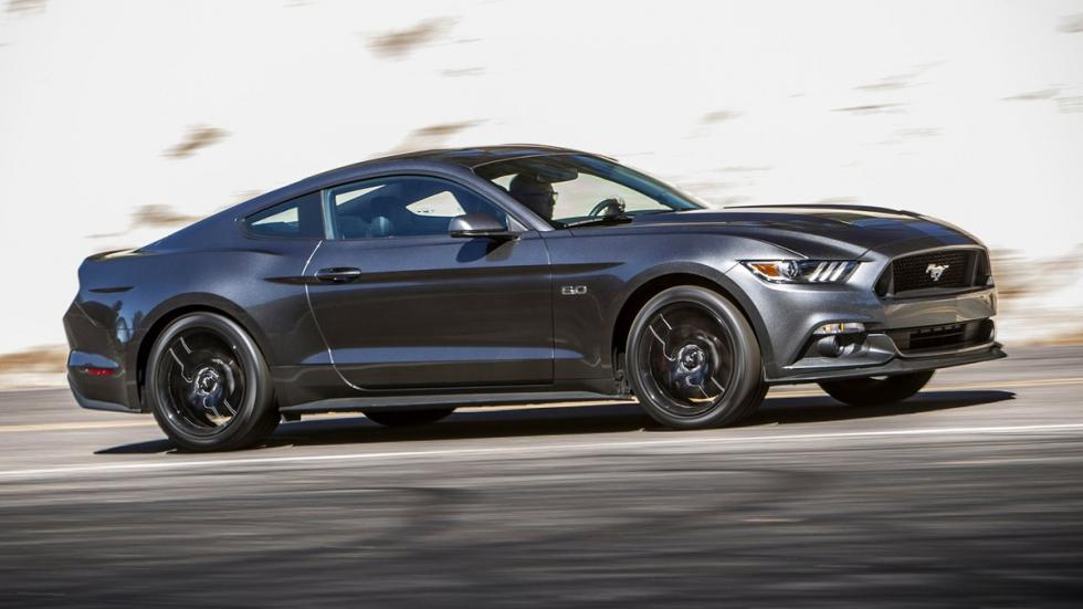 Cinco mejores muscle cars Ford Mustang 2015