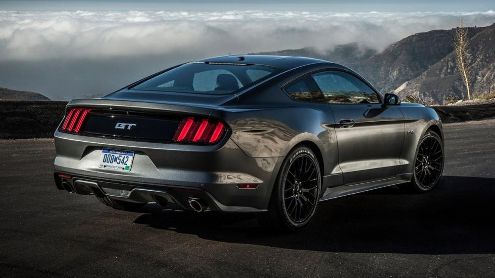Cinco mejores muscle cars Ford Mustang 2015 zaga