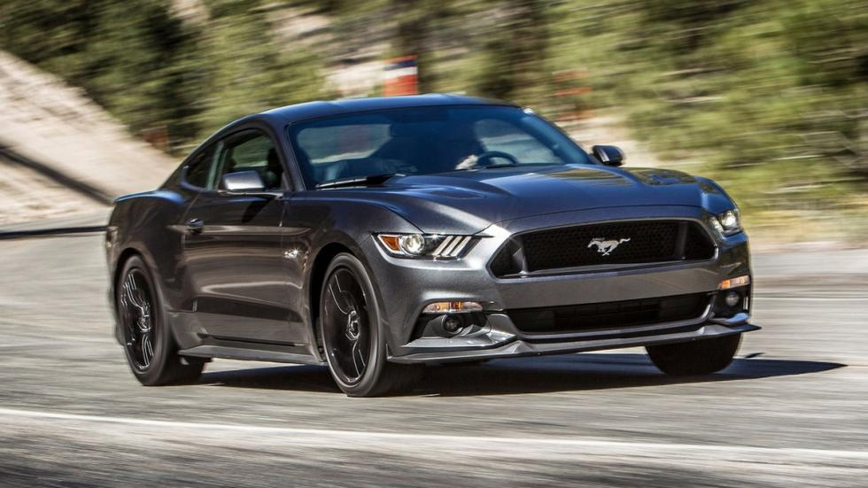 Cinco mejores muscle cars Ford Mustang 2015 frontal