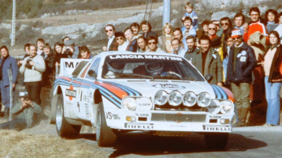 Lancia Rally 037 Walter Röhrl