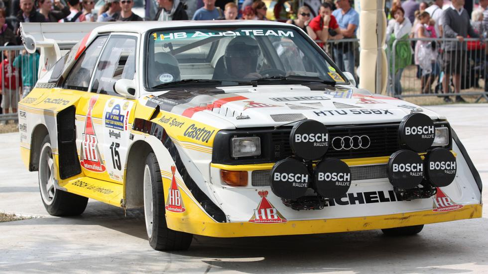 Audi Quattro s1 Walter Röhrl