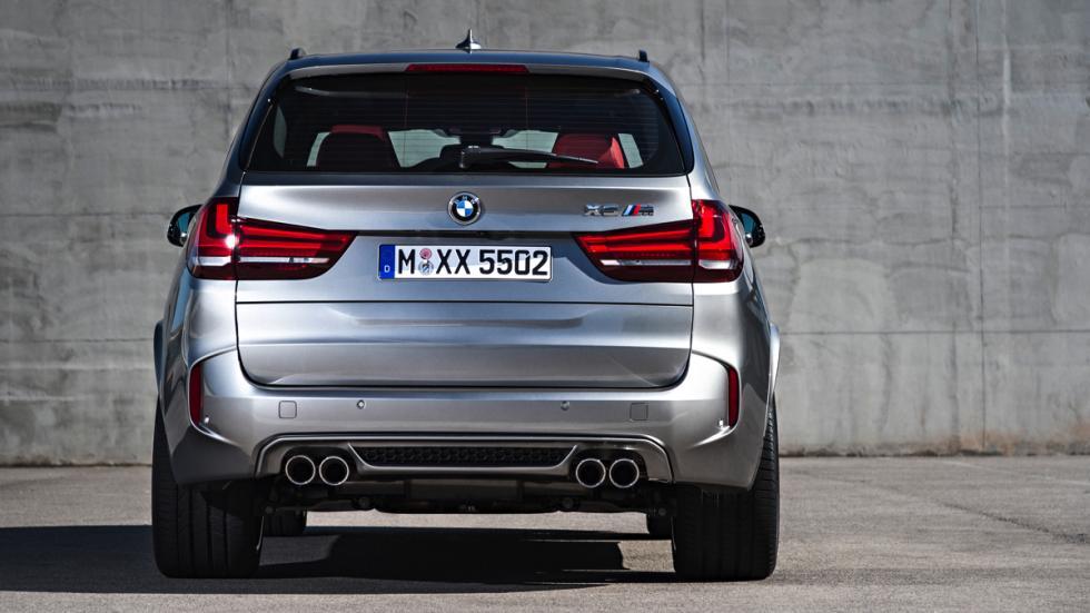 BMW X5 M trasera