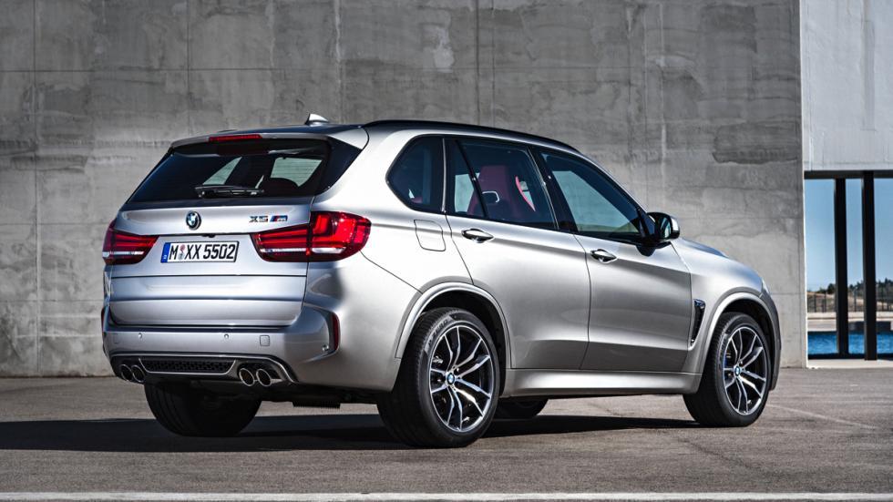 BMW X5 M tres cuartos traseros