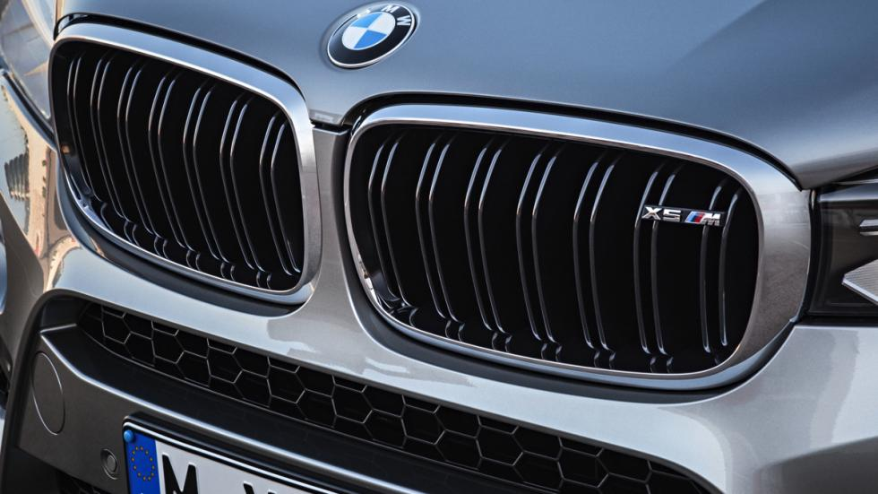 BMW X5 M parrilla