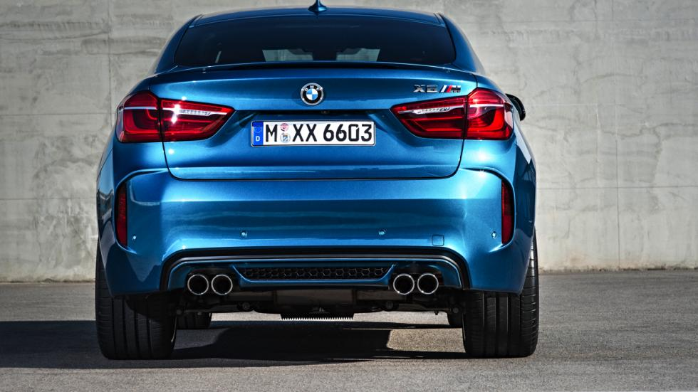 BMW X6 M trasera