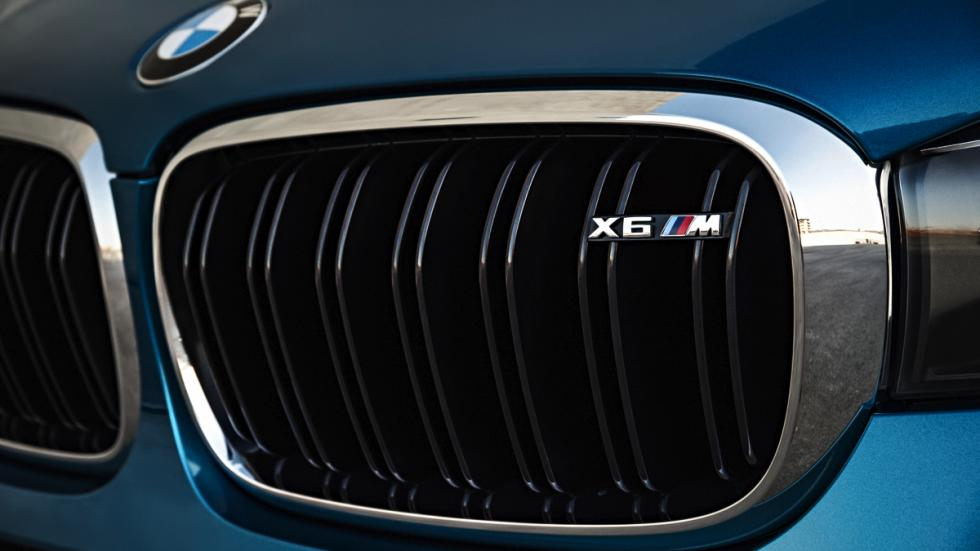 BMW X6 M parrilla