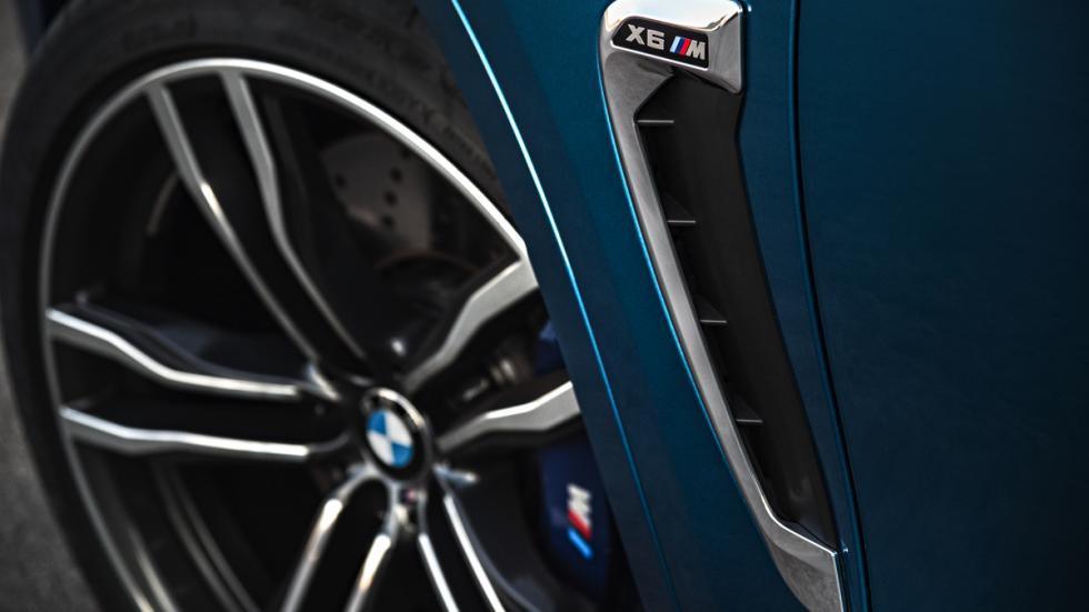 BMW X6 M rueda
