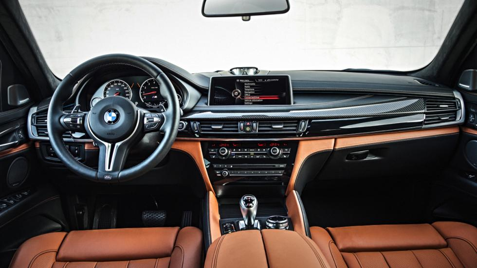 BMW X6 M interior