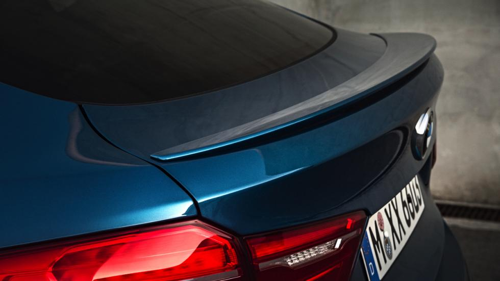 BMW X6 M spoiler