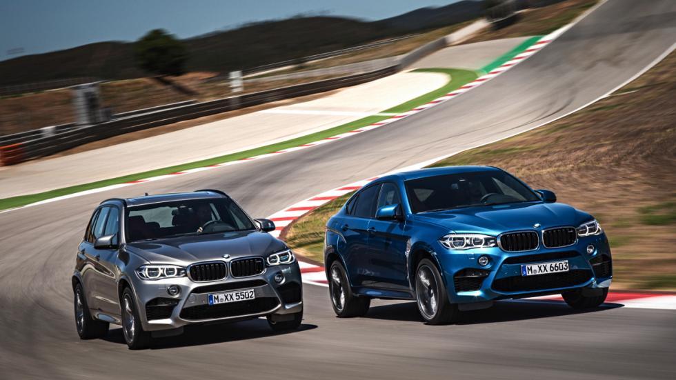 BMW X6 M y BMW X5 M