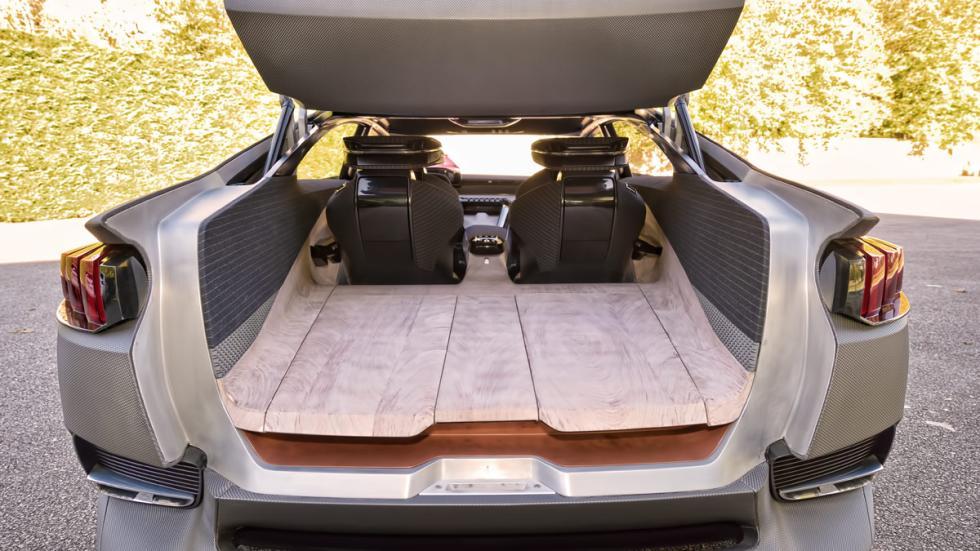 Maletero del Peugeot Exalt