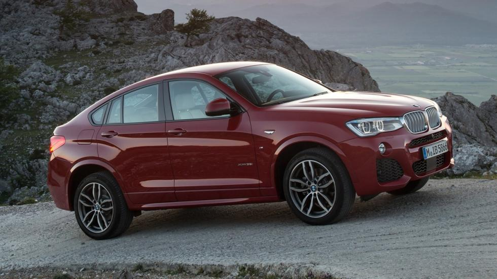 cinco coches alemanes no fabrican Alemania BMW X4 lateral