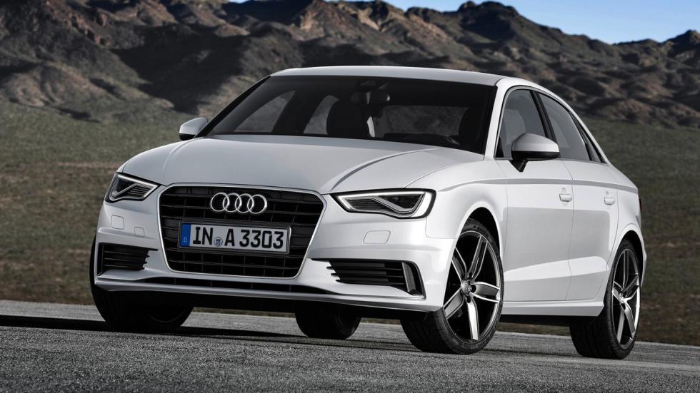 cinco coches alemanes no fabrican Alemania Audi A3 Sedan