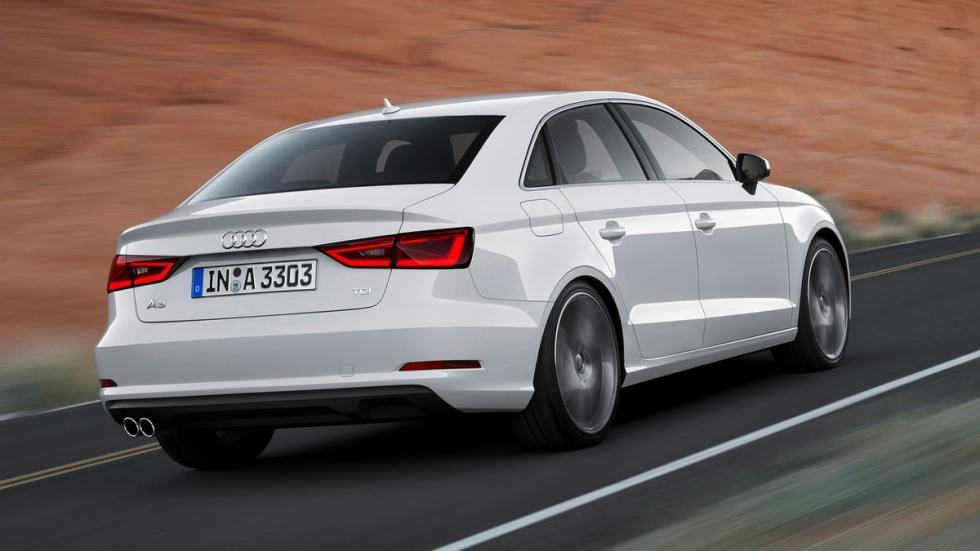 cinco coches alemanes no fabrican Alemania Audi A3 Sedan trasera
