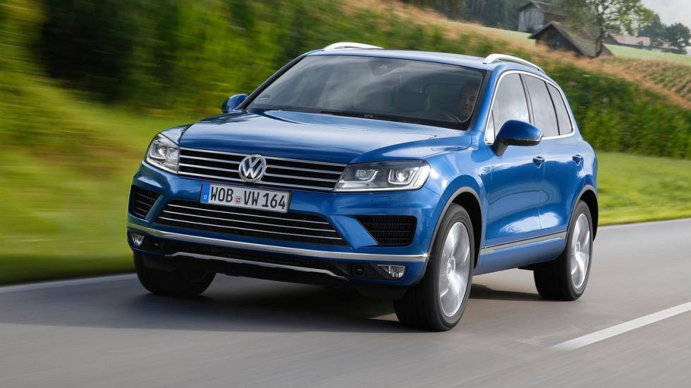 cinco coches alemanes no fabrican Alemania Volkswagen Touareg