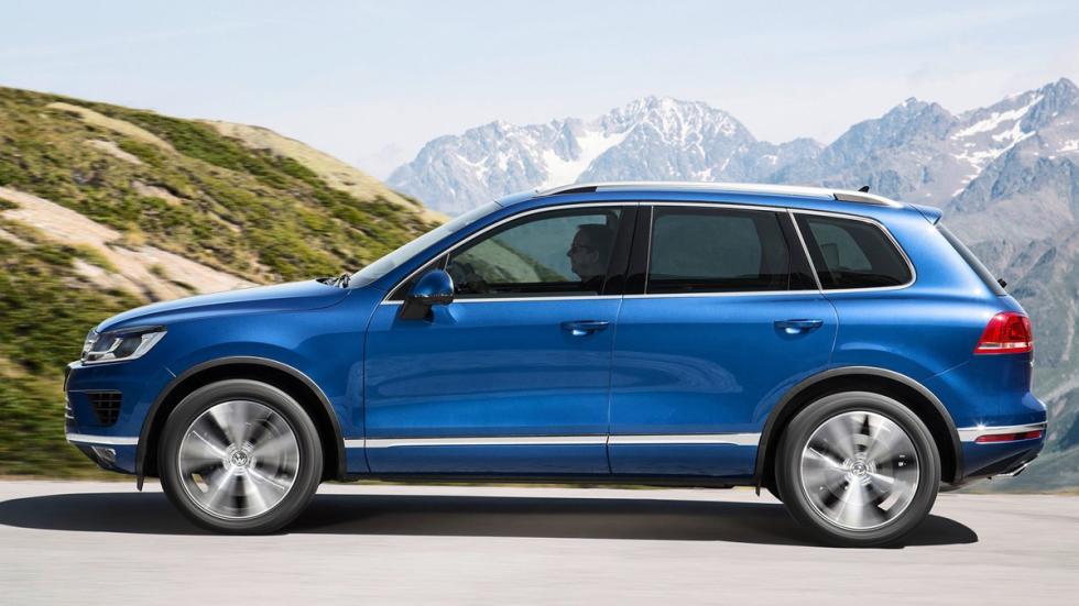 cinco coches alemanes no fabrican Alemania Volkswagen Touareg lateral