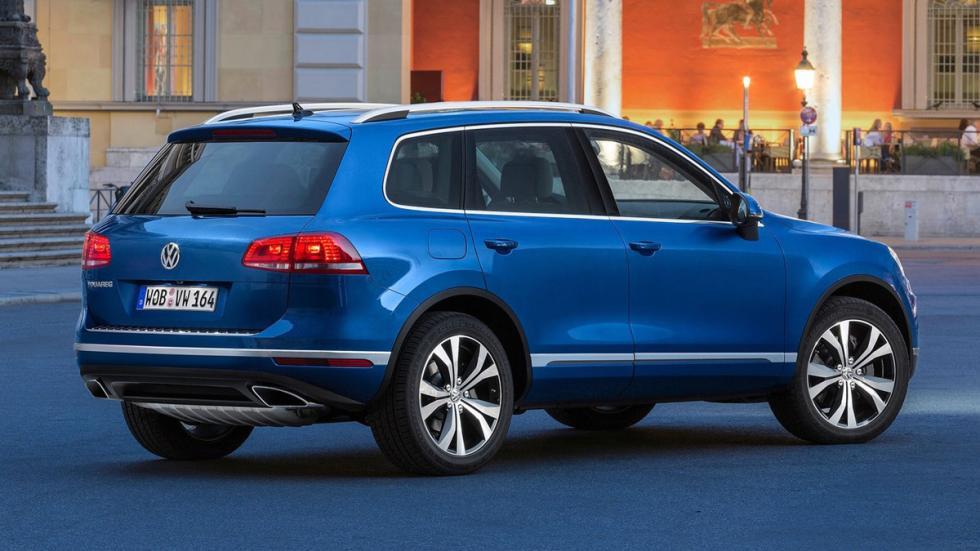 cinco coches alemanes no fabrican Alemania Volkswagen Touareg trasera