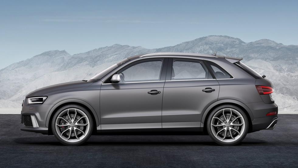 cinco coches alemanes no fabrican Alemania Audi Q3 lateral