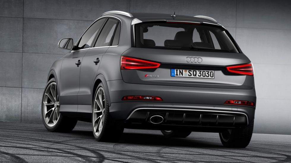 cinco coches alemanes no fabrican Alemania Audi Q3 trasera