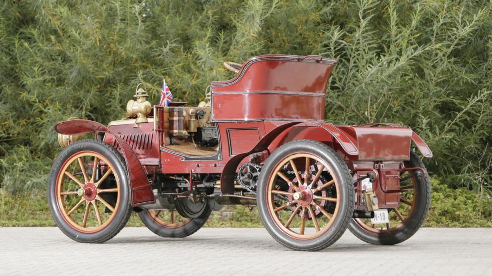 Panhard Et Levassor Model KB tres cuartos trasera