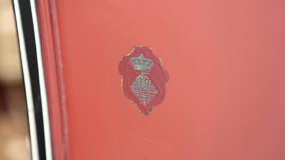 Panhard Et Levassor Model KB escudo de armas del Marques de Ivanrey