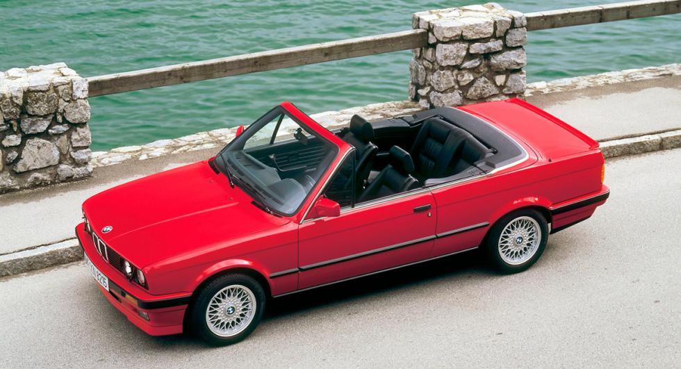 BMW Serie 3 E30 Cabriolet lateral