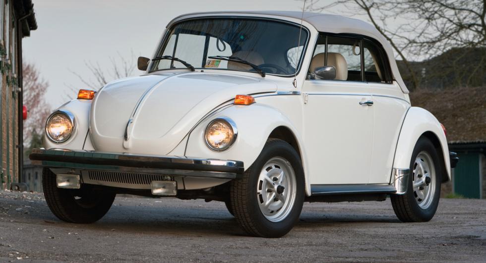 Volkswagen Escarabajo Cabrio delantera