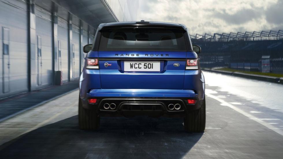 Mayores rivales nuevo BMW X5 M Range Rover Sport SVR zaga