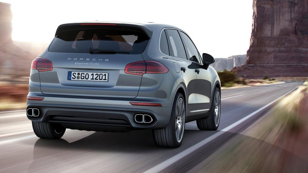 Mayores rivales nuevo BMW X5 M Porsche Cayenne Turbo zaga