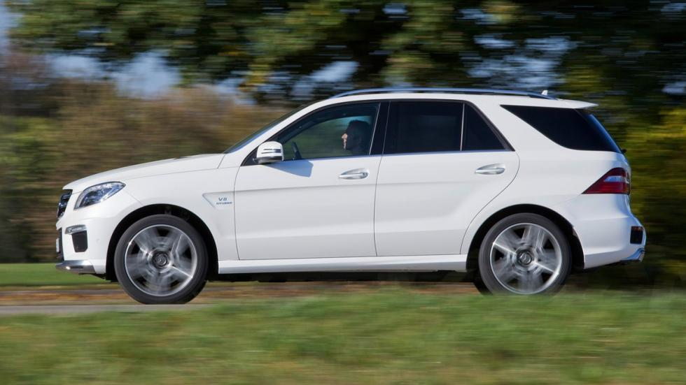 Mayores rivales nuevo BMW X5 M Mercedes ML 63 AMG lateral