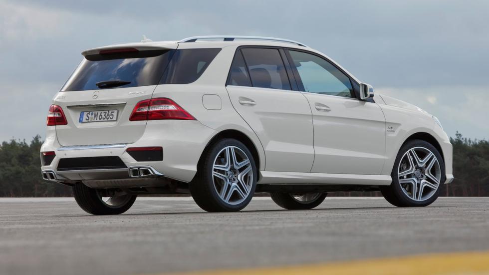 Mayores rivales nuevo BMW X5 M Mercedes ML 63 AMG zaga