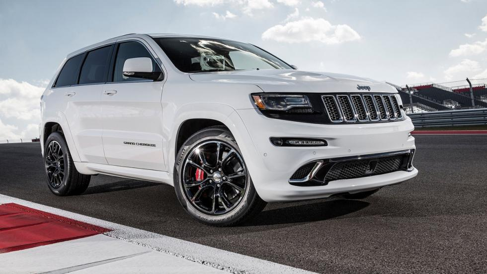 Mayores rivales nuevo BMW X5 M Jeep Grand Cherokee SRT8