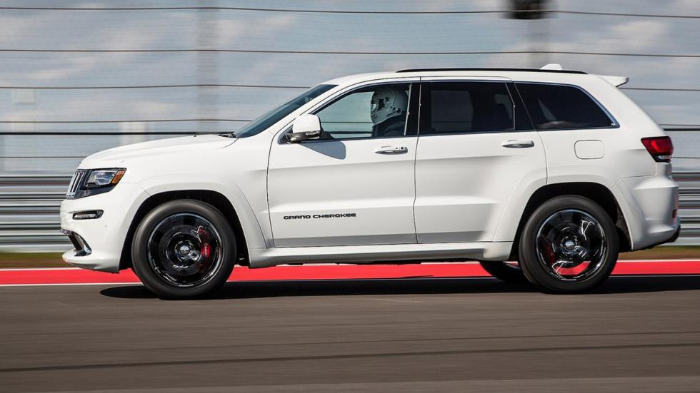 Mayores rivales nuevo BMW X5 M Jeep Grand Cherokee SRT8 lateral