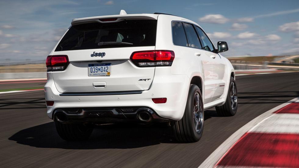 Mayores rivales nuevo BMW X5 M Jeep Grand Cherokee SRT8 zaga