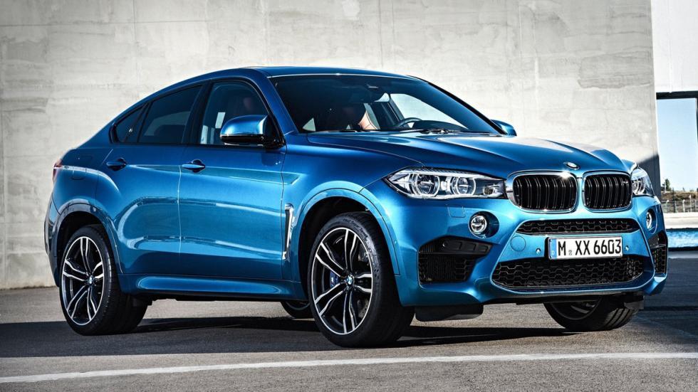 Mayores rivales nuevo BMW X5 M BMW X6 M