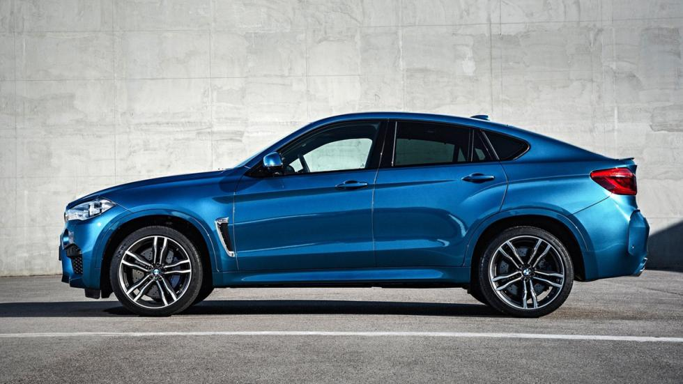 Mayores rivales nuevo BMW X5 M BMW X6 M lateral