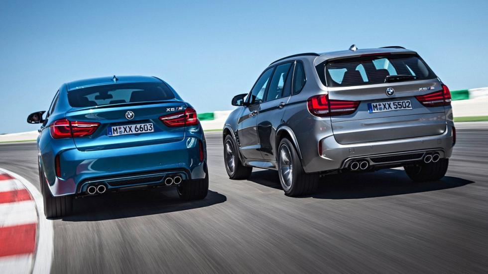 Mayores rivales nuevo BMW X5 M BMW X6 M zaga