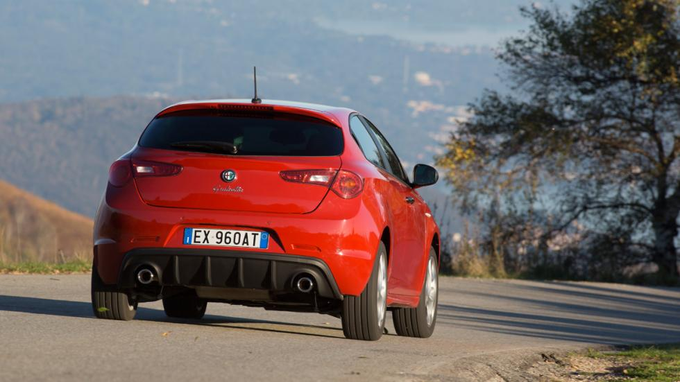 Alfa Romeo Giulietta Sprint trasera