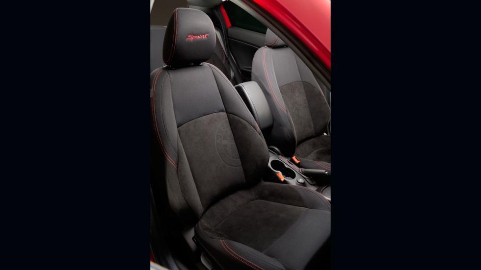 Alfa Romeo Giulietta Sprint asientos