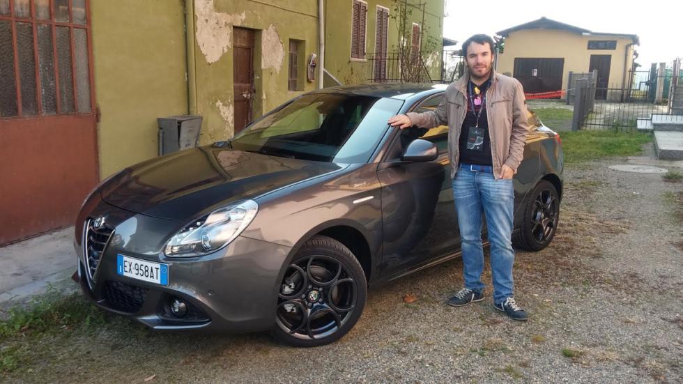 Alfa Romeo Giulietta Sprint prueba