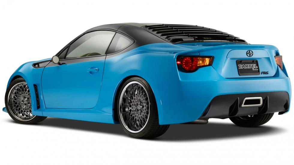Scion FR-S Cartel Customs lateral trasera