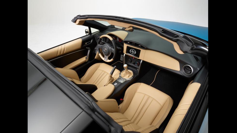 Scion FR-S Cartel Customs interior