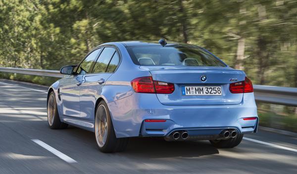 Nuevo BMW M3 trasera