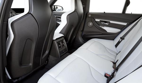 Nuevo BMW M3 asientos
